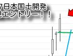 1887日本国土開発買いエントリー